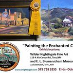 Wendy Ahlm - Taos Plein Air - A Juried Members Paint Out And Show