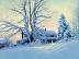 Winters Blanket by Nancy Peach