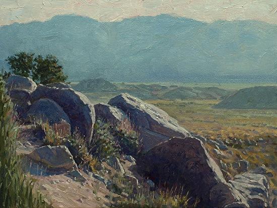 Sierras Owens Inyos - Oil