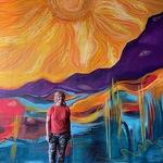 Barbi Dalton - Barbi at the Charlotte,NC Van Gogh Immersive Experience