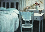 Summer Bedroom by Carolyn Caldwell Pastel ~ 18 x 24