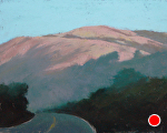 Morning, Big Sur by Carolyn Caldwell Pastel ~ 8 x 10