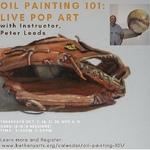 Peter Leeds - Oil painting 101: Live Pop Art
