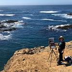 Monterey Bay Plein Air Painters Association - Painting the Beauty of Mendocino County - MBPAPA's Ellen Howard