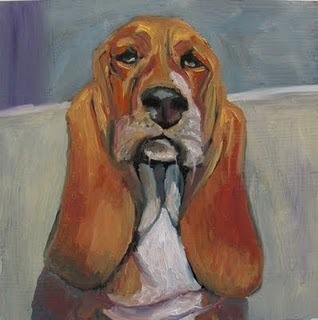 Mr Distinguished - oil painting by Susan Spohn