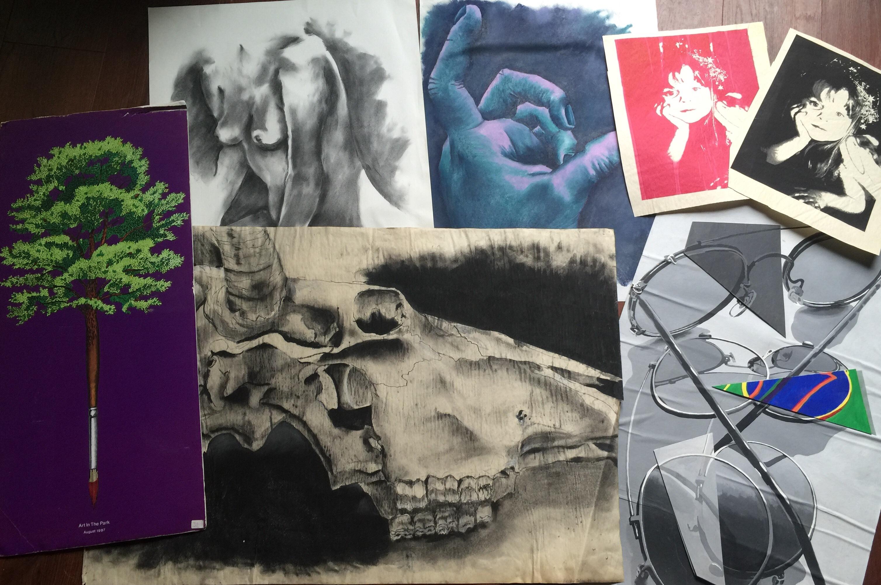 Becky's artworks