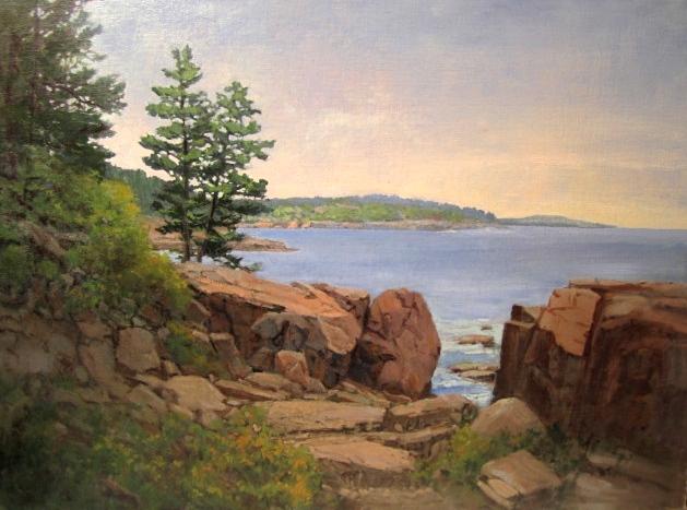 Acadian Shore - Oil