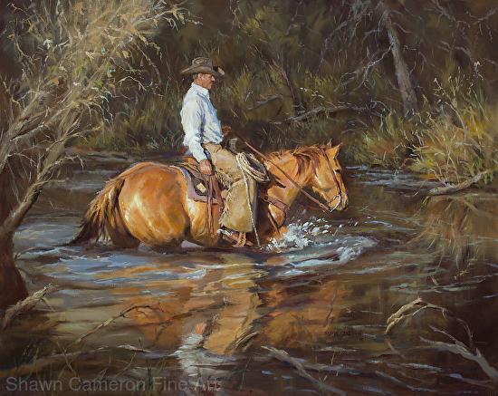 River Crossing - Oil