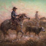 Shawn Cameron - Cowgirl Up!  Art from the Other Half of the West