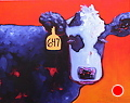 """What`s Your Number?"" by Dianna Fritzler Oil ~ 16"" x 20"""