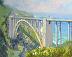 Bixby Bridge Morning Shadows by Tatyana Fogarty
