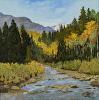 Angel Creek In Autumn