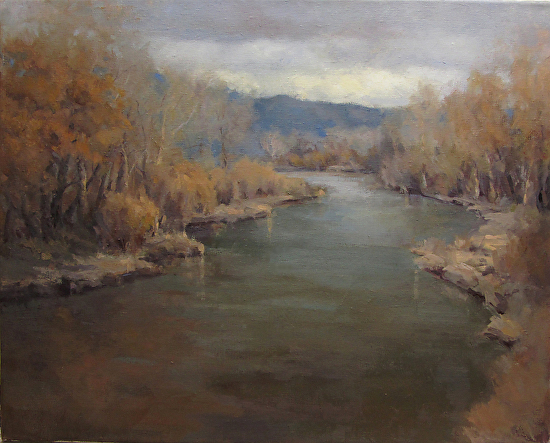Autumn River - Oil