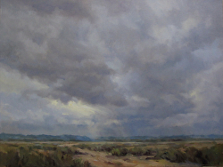 """Storm across the Flatlands"" 18"" x 24"""