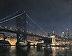 Nocturne, Ben Franklin Bridge by Michael Budden