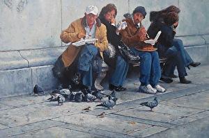 An example of fine art by Michael Budden