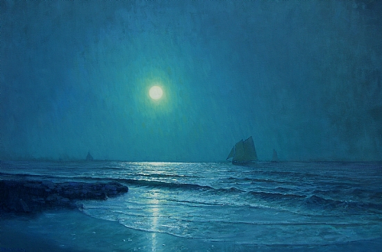 Moonlight by Michael Budden Oil ~ 24 x 36