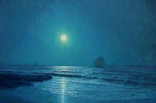 Moonlight by Michael Budden Oil ~ 24 x 36
