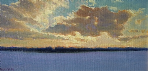 Glorious Ending by Michael Budden Oil ~  x