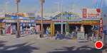 Venice Beach by John White Oil ~ 15 x 30