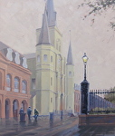 Jackson Square by John White Oil ~ 24 x 20