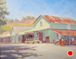 Cooper Garrod Winery by John White Oil ~ 11 x 14