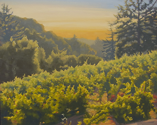 Sunshine on the Vine - Oil