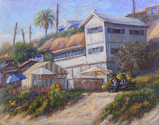 A Favorite Place - Crystal Cove - Oil