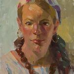 "Ned Mueller - ""Expressive Portrait Color Paintings"""