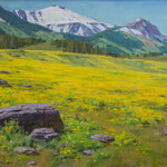 Ned Mueller - Plein Air Painting in the Beartooth Range-Montana
