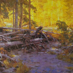 Ned Mueller - Plein Air Workshop in the Seattle countryside and harbor