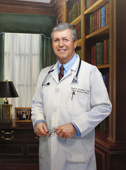 Dr. Neal C. Chadwick, M. D. - Oil