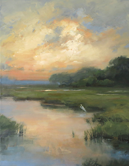 Marsh Light - Oil