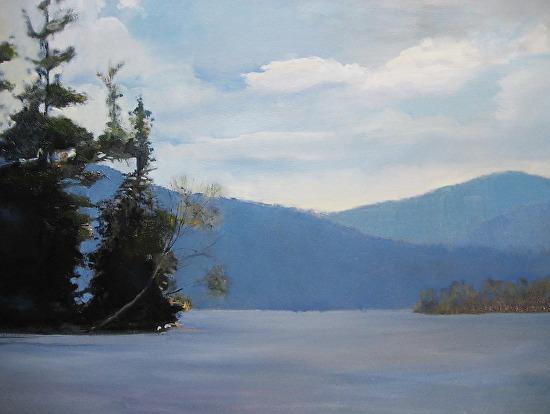 Scenic Lake - Oil
