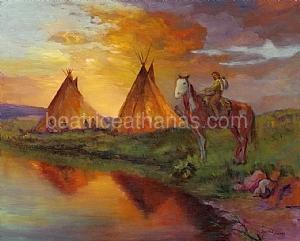 American Indian series