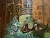 "Venice Series, Gondola by Beatrice Athanas Oil ~ 24"" x 30"""