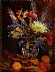 "Flowers Fall Bouquet by Beatrice Athanas Oil ~ 20"" x 16"""