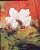 Holidays, Love and Peace by Beatrice Athanas Oil ~ 20 x 16
