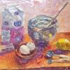 Baking Cookies, 18x24, oil, Kathryn Willis