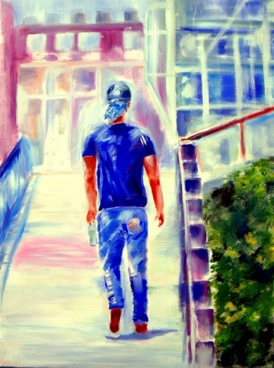 Struttin' the High Line - Oil