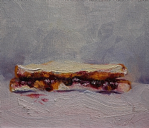 PB by MaryAnn Cleary Oil ~ 5 x 6