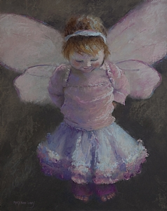 Fairy Wings by MaryAnn Cleary Pastel ~ 20 x 16