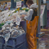 Early Morning Fish Market