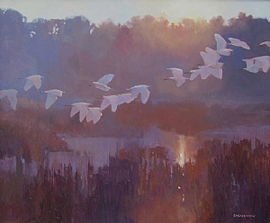 Fly Away Home by Adele Earnshaw Oil ~ 20 x 24