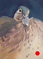 236 - Female Wood Duck by Adele Earnshaw Oil ~ 7 x 5