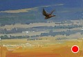 75 - 274 Kestrel by Adele Earnshaw Oil ~ 5 x 7