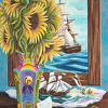Tall Ships and Sunflowers