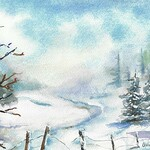 Linda Young - Painting the Winter Landscape in Watercolor