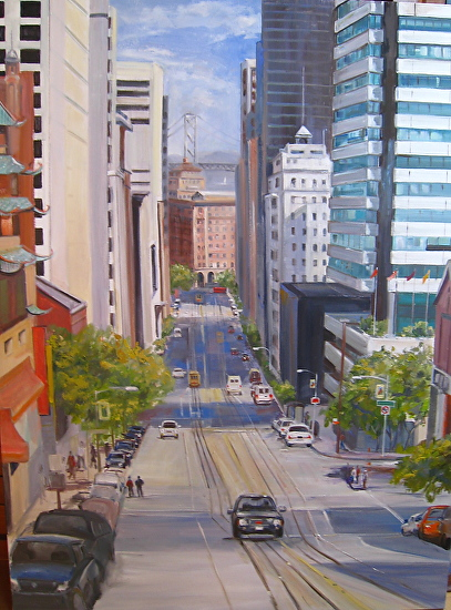 California Street - Oil