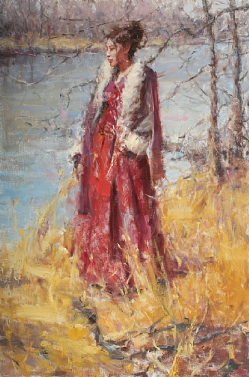 A Warm Breeze - Oil